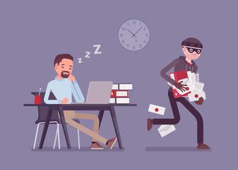 O problema pentru toate companiile: angajatii care fura!