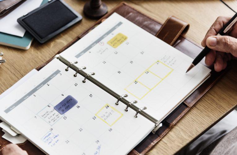 Agende planner – pentru gestionarea eficienta a timpului